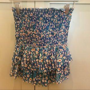 Isabel Marant Etoile floral mini skirt FR 34